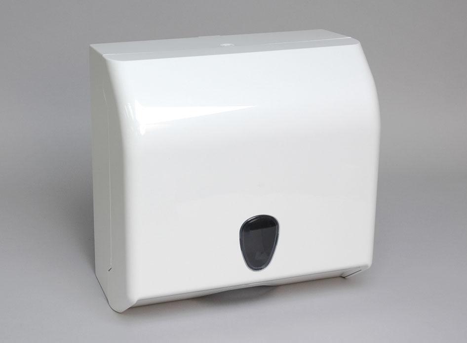 interfolded paper towel dispenser