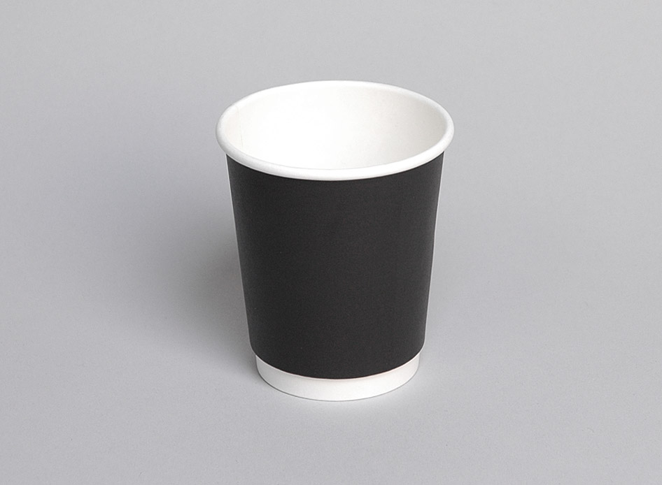 Double Walled Pe Lined Cup 08oz